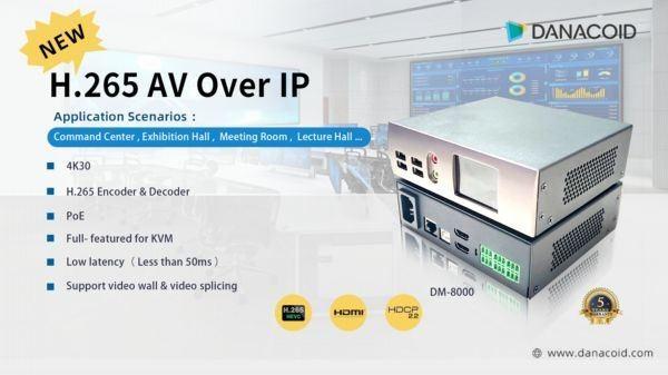 Danacoid AV over IP